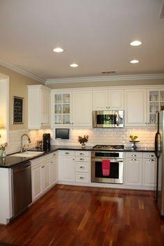 #Kitchen #condo Simple kitchen example.