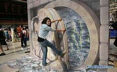 3D Chalk Art - Abstract Art - Zimbio