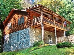 Carolina Vacations - Maggie Valley, North Carolina - Rentals: 2 Queen, 2 Queen Sleeper Sofas, 3 Bathrooms, Gas Fireplace, Foosball in Lower Level Game Area, Pet-Friendly, Chain Link Fenced Back Yard, Covered Porch, $200 Security Deposit, $100 Pet Fee, $45 Reservation Fee 6.5% of Total Cost Less Security Deposit Travel Insurance, $605/Week North Carolina Rentals, North Carolina Vacations, Maggie Valley North Carolina, Sleeper Sofas, Total Cost, Gas Fireplace, Pergola, Porch, Bathrooms