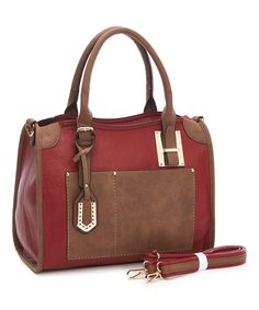 Look what I found on #zulily! Wine Dome Satchel & Crossbody Bag #zulilyfinds