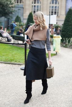 lovely winter outfit, although we are still not in winter...
