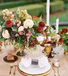 Champagne and Burgundy Wedding - Champagne and Light Blue Wedding and other Great Combos - EverAfterGuide