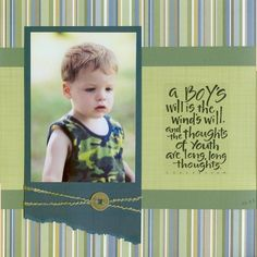 A Boy's Will - Two Peas in a Bucket