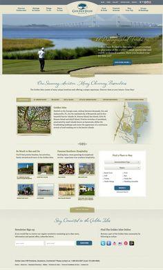 Golden isles homepage widescreen