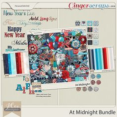 At Midnight Bundle by JoCee Designs  #digitalscrapbooking#digiscrapping#digitalart#scrapbooking#makingmemories#Midnight#new year#new years' eve#auld lang syne#happy new year#balloons#champagne#fireworks#party#hat#noise maker#mask#clock#bling#disco ball#countdown#cork#glass#new beginnings#gingerscraps#joceedesigns