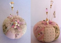 What an adorable pincushion!