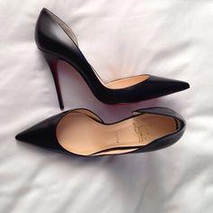 JUST (via Bloglovin.com ) black shoes . Or  heels. High heels for any occasion