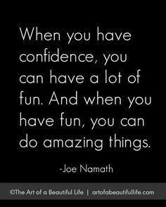 Do amazing things