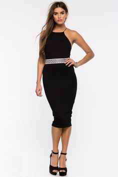 Gabriella Stone Halter Dress