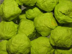 lime green wildflower seed bombs for wedding favors?