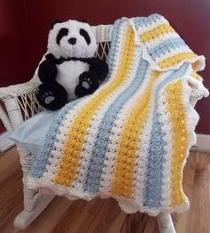 9 Pastel Colored Patterns for Crochet Baby Blankets | AllFreeCrochetAfghanPatterns.com