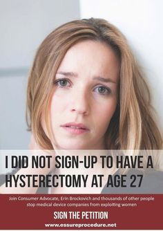 Ladies, do not get Essure - no matter what your doctor tells you about it's success rate. It doesn't work and I am one of the many who have had to get a hysterectomy in order to get these poisonous coils removed.