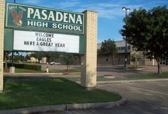Pasadena ISD having a great year. http://PinnacleCreative.net
