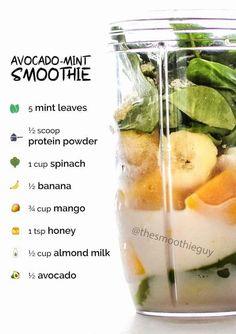 Smoothie Diet Plans, Smoothie Challenge, Homemade Smoothies, Healthy Smoothies, Green Smoothies, Weight Loss Detox, Weight Loss Smoothies, Vegetable Smoothie Recipes, Mint Smoothie