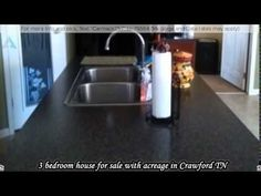 3 bedroom house for sale with acreage in Crawford TN - YouTube