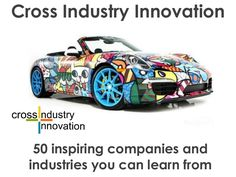 Ramon Vullings & Marc Heleven are currently writing their new book on Cross Industry Innovation.  One for my wishlist!