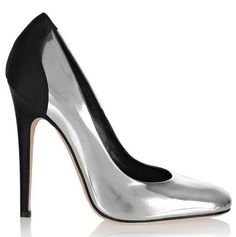 Giambattista Valli silver pumps