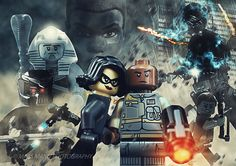 Dawn of a New World | Day of Judgement  Starring K-2SO (Star Wars - Rogue One), Finn (The Force Awakens), and... some other guys.