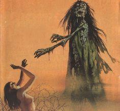 Karel Thole - Detail from Vampir Horror Roman - 049 Sci Fi Horror, Horror Comics, Horror Art, Horror Films, Zombie Kunst, Zombie Art, Dark Fantasy Art, Dark Art, Retro Art