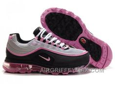 on sale 8ec48 a1f13 New Womens Nike Air Max 24-7 Grey Black Pink AMFW0308