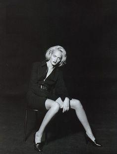 """Now Noir"", Vogue UK, 1995 Model : Amber Valletta"