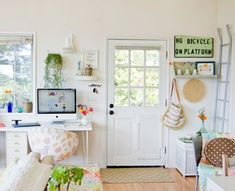 Love this whole space
