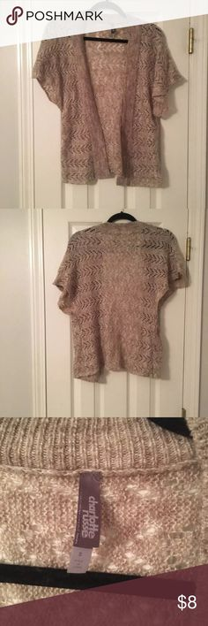 """Charlotte Russe Tan Cardigan Size S Excellent condition. Charlotte Russe tan cardigan in size small. Would look great with jeans and a trendy top! Perfect for Fall!  ***FAST SHIPPING   ***Love the item, but don't love the price? Send me an offer! ***10% OFF 2+ ITEMS-- CLICK """"ADD TO BUNDLE""""   Want to Bundle? Here are some options! - American Eagle Boyfriend Jeans Size 2R $16 - Free People Red Peplum Short Size S $18 - h.i.p Floral Sheer Shirt Size S $15 - New York & Co Fur Vest Size XS/S $20…"""