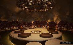 Tea Garden Restaurant Concept // Sergey Makhno | Afflante.com