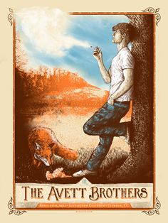 The Avett Brothers: April 11, 2013, Clemson, SC; by Zeb Love