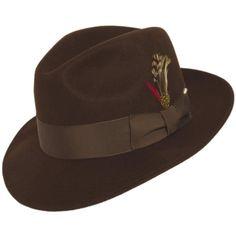 7e56dd7a33e62 Capas Untouchable Wool Felt Fedora Hat