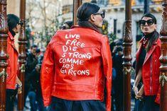 Street style Paris Fashion Week a/w 2015-2016 | Row