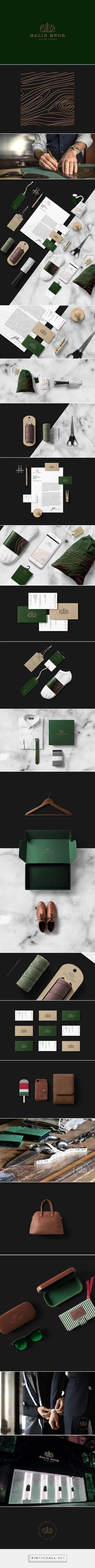 Malik Bros - Tailor Goods on Behance - created via https://pinthemall.net