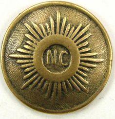North Carolina coat button