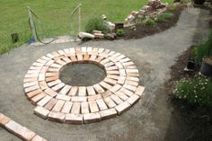 laying bricks in a circle | Wednesday, November 10, 2010