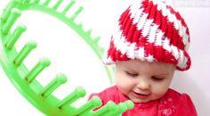 Peppermint Twist Beanie Hat Pattern