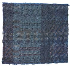 Sample for a Jacquard woven fabric<br /> ca. 1928<br /> Mercerized cotton. wool, rayon<br /> 12x14 cm<br /> Stiftung Bauhaus Dessau<br /> Inv. No. I 1222T