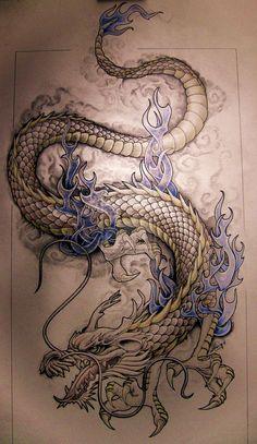 dragon by knotty-inks.deviantart.com on @deviantART