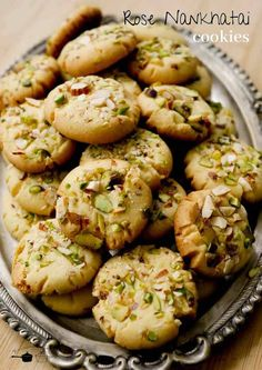 Eggless Cookie Recipes, Eggless Desserts, Eggless Baking, Oatmeal Recipes, Egg Free Recipes, Snack Recipes, Cooking Recipes, Vegetarian Recipes, Indian Dessert Recipes