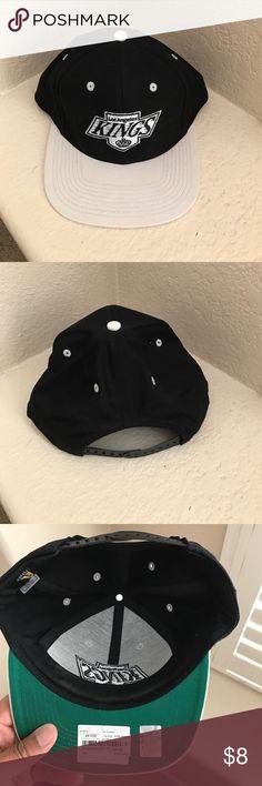 Vintage Hockey: LA Kings Vintage Snap Back Vintage Hockey: LA Kings Vintage Snap Back worn twice. Vintage Hockey  Accessories Hats