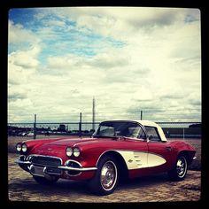 A classic Corvette.