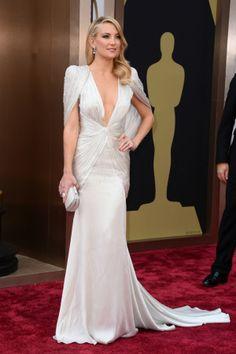 Os vestidos brancos dos Óscares 2014 | O blog da Maria. #casamento #vestidosdenoiva #vestidos #gala #Oscars2014