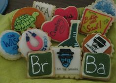 Breaking Bad Cookies by Nannyscakes on Etsy, $25.00