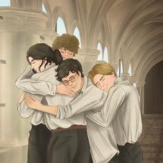 Harry Potter Artwork, Harry Potter Marauders, Harry Potter Pictures, James Potter, Harry Potter Fan Art, Harry Potter Universal, Harry Potter Characters, Harry Potter Memes, Marauders Fan Art