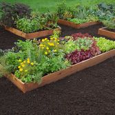 3' Cedar Raised Beds $135