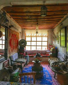 Turkish village house interior