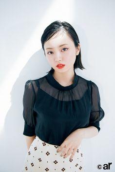 Japan Girl, Idol, Bell Sleeve Top, Ruffle Blouse, Poses, Celebrities, Beauty, Marvel, Japanese