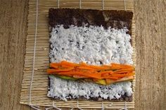 How to Make Homemade Sushi | ... delectable idea for a sweet sushi treat: make-your-own candy sushi