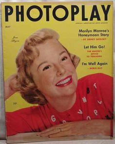 "June Allyson ~ ""PhotoPlay"" magazine..."
