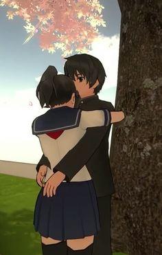 Anime People, Anime Guys, Yendere Simulator, Yandere Simulator Characters, Animes Yandere, Anime Stickers, Video Game Characters, Creepy Cute, Anime Scenery