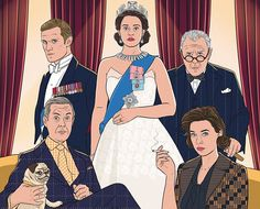 """""""As my latest stay in hospital came to an end, the second series of The Crown was just starting on Netflix. The Crown Tv Show, The Crown Series, The Crown Elizabeth, Queen Elizabeth, Vanessa Kirby, Lisa Del Piero, Crown Netflix, Crown Art, Bollywood"""